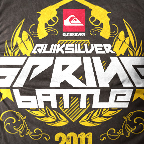 QUIKSILVER/SPRING BATTLE 2011
